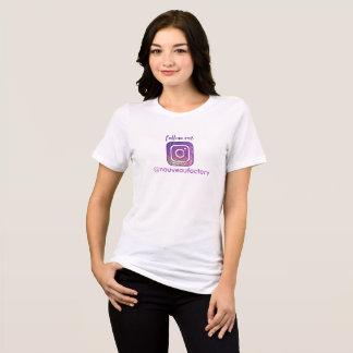 Camiseta Instagram segue-me t-shirt