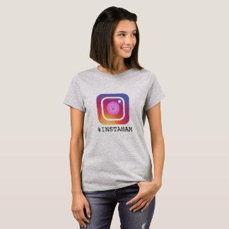 Camiseta Instaham da chalaça engraçada do porco de