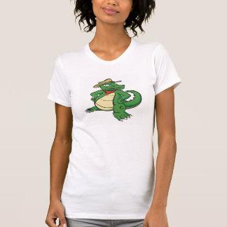 Camiseta Instigador do jacaré (solo) • T-shirt das meninas
