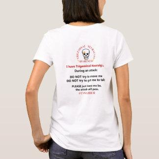 Camiseta Instruções do ataque do Neuralgia de Trigeminal