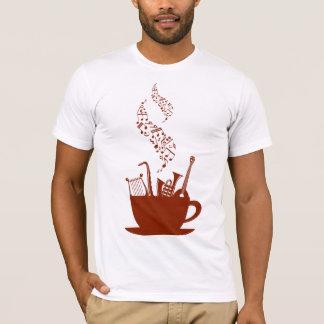 Camiseta Instrumentos musicais e t-shirt dos homens das