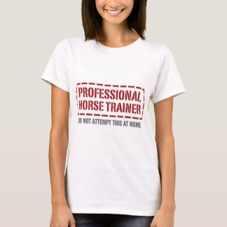 Camiseta Instrutor de cavalo profissional