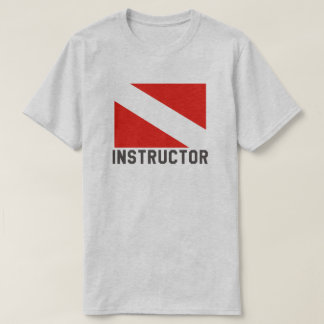 Camiseta Instrutor do mergulho autónomo