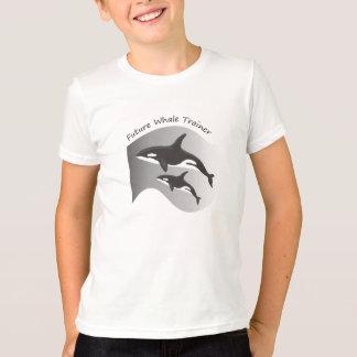 Camiseta Instrutor futuro da baleia