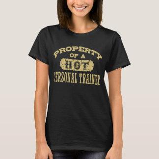 Camiseta Instrutor pessoal engraçado