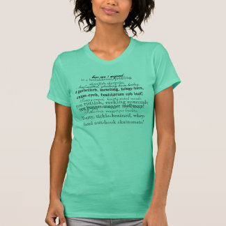 Camiseta Insultos de Shakespeare