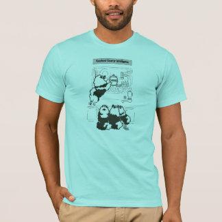Camiseta inteligência contrária do keeshond