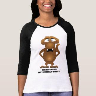 Camiseta Interesses desviantes