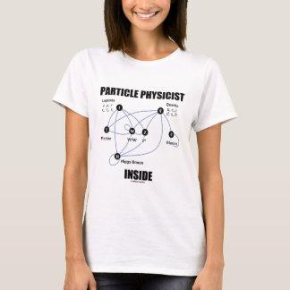 Camiseta Interior do físico da partícula (modelo padrão