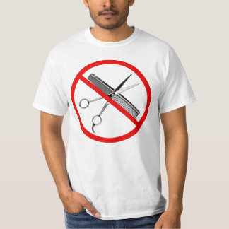 "Camiseta International de ""símbolo nenhum Shave"""
