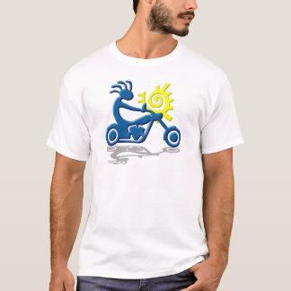 Camiseta Interruptor inversor de Kokopelli