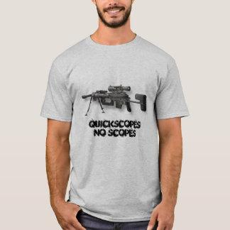 Camiseta Intervenção, espaços de QuickscopesNo