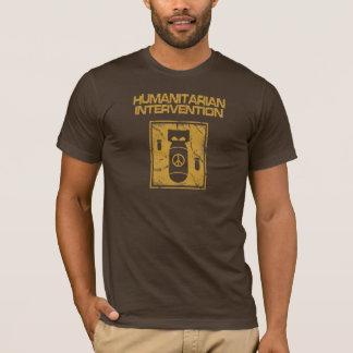 Camiseta Intervenção humanitária - pacífica