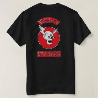 Camiseta intimidação da Gota-zona