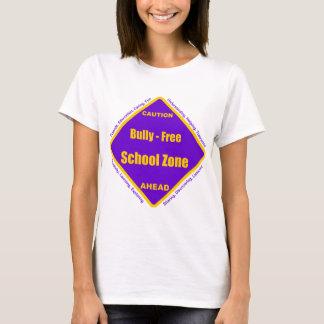 Camiseta Intimidação - zona da escola livre
