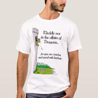 Camiseta Intrometa não nos casos dos dragões…