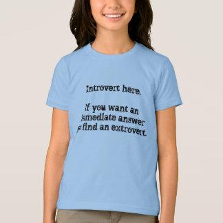 Camiseta Introvert aqui