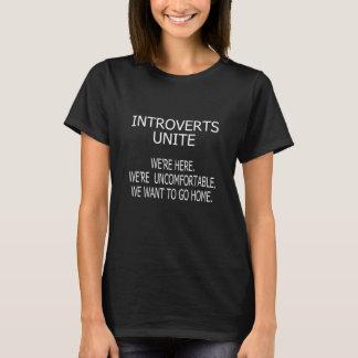 Camiseta introvertido