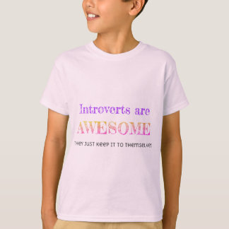 Camiseta Introverts é impressionante