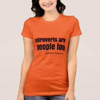 Camiseta Introverts é pessoas de (a)