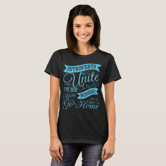 Camiseta Introverts unem o t-shirt