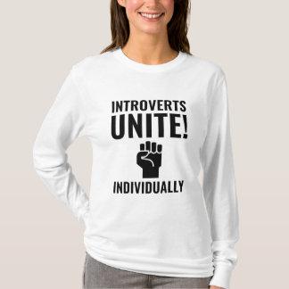 Camiseta Introverts unem-se