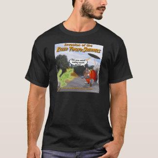 Camiseta Invasão dos esquilos do tomate do assassino