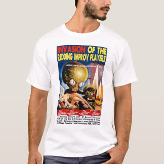 Camiseta Invasão dos jogadores de Redding Improv