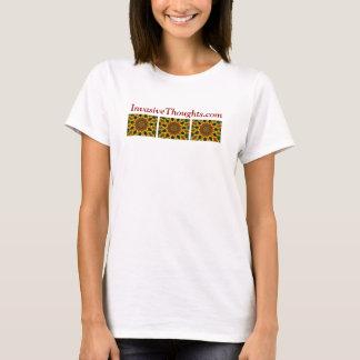Camiseta InvasiveThoughts.com - explosão da cor