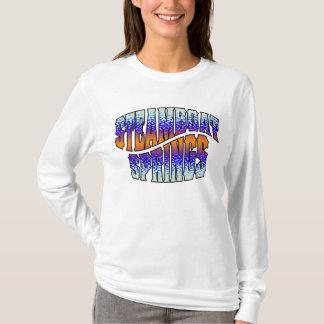 Camiseta Inverse de TieDye Camo do barco a vapor