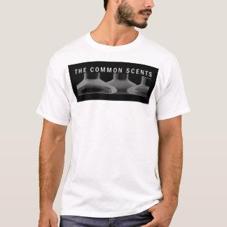 Camiseta Inverteu o logotipo dos perfumes da terra comum