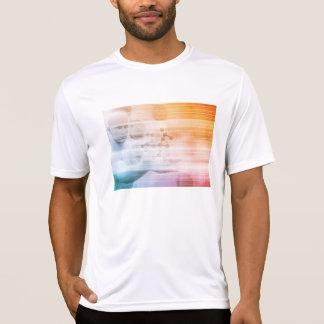 Camiseta Investigação e desenvolvimento com doutor Visão