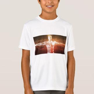 Camiseta Investigação médica no corpo humano como o
