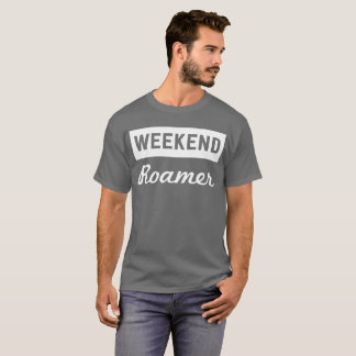 Camiseta Investigador da aventura do divertimento de Roamer