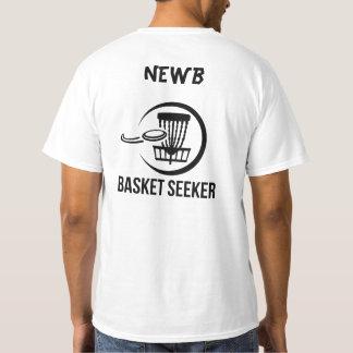 Camiseta Investigador Newb da cesta