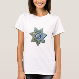 Camiseta Investigador privado da arizona