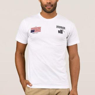 Camiseta Investigue 9-11