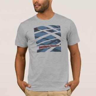 "Camiseta ""Investigue t-shirt de Chemtrails"""