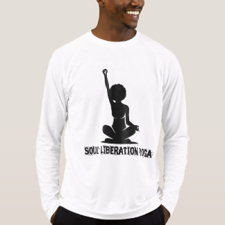 Camiseta Ioga da libertação da alma, estilo #2 da letra