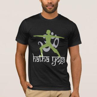 Camiseta Ioga de Hatha da pose do guerreiro II