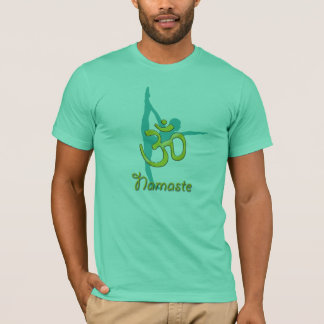 Camiseta Ioga de voo OM da pose/t-shirt do namaste