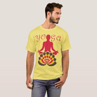 Camiseta Ioga Flor de Loto