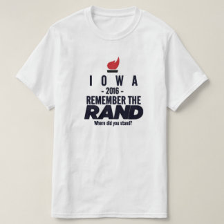 Camiseta Iowa 2016 - Iowa para a margem Paul