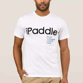 Camiseta iPaddle: Clube da canoa de guiga de Imua