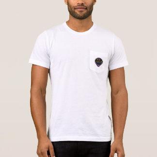 Camiseta IR-VAI o Tshirt do bolso dos homens do carnaval