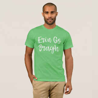 Camiseta Ireland Erin vai T de Bragh
