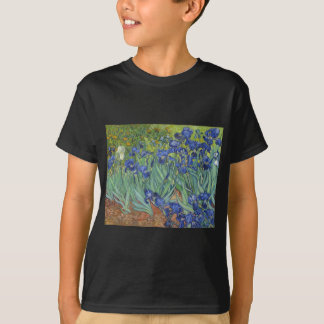 Camiseta Íris azuis