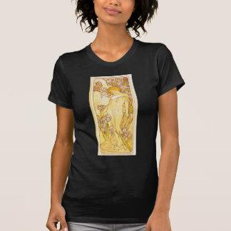 Camiseta Íris por Alphonse Mucha