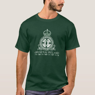 Camiseta Irlanda do Norte - design celta do ropework