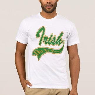 Camiseta Irlandês melhora o t-shirt